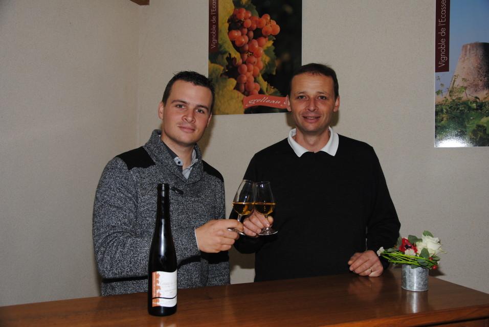 Landry et jérémy REULIER, Vignoble de l'ecasserie